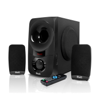Bocina Klip Xtreme KWS-650 BluePulse – Sistema de altavoces Canal 2.1 60W USB/BT/SD/3.5mm